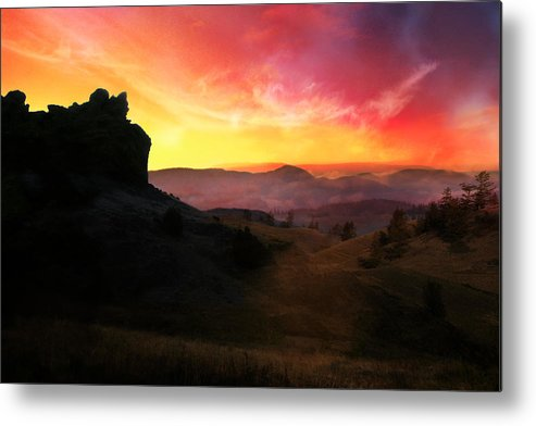 Landscape Metal Print featuring the photograph Rhapsody by Ed Hall