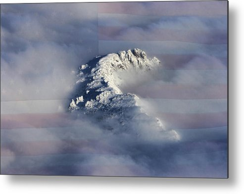 Rocky Mountains Metal Print featuring the photograph Rocky Mountain High - America The Beautiful by James BO Insogna