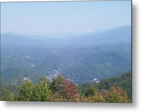 Tennessee Metal Print featuring the photograph Rocky Top Tennessee 2 by Paula Ferguson