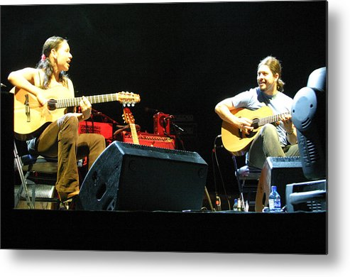 Photographer Metal Print featuring the photograph Rodrigo Y Gabriela 18 by Jez C Self