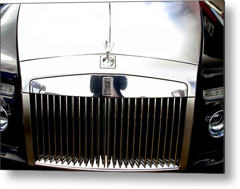 Jez C Self Metal Print featuring the photograph Rolls Royce 2 by Jez C Self