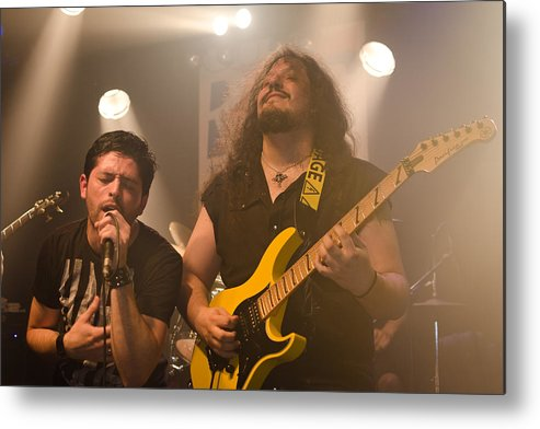 Ritchie Blackmore Metal Print featuring the photograph Ronnie Romero 13 by Pablo Lopez