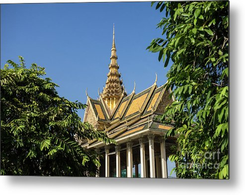 Cambodia Metal Print featuring the photograph Royal Palace 04 by Rick Piper Photography