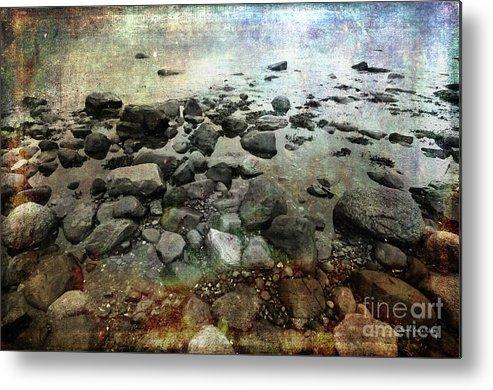 Boulders Metal Print featuring the photograph Rugged Peace by Randi Grace Nilsberg