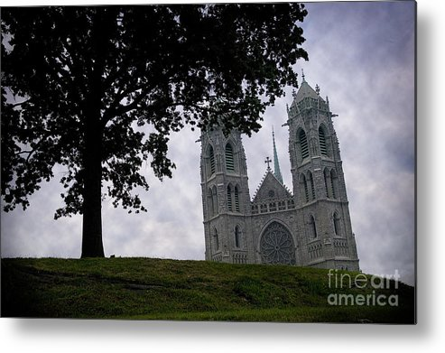 Newark Metal Print featuring the photograph Sacred Heart Cathedral Newark New Jersey by Yuri Lev