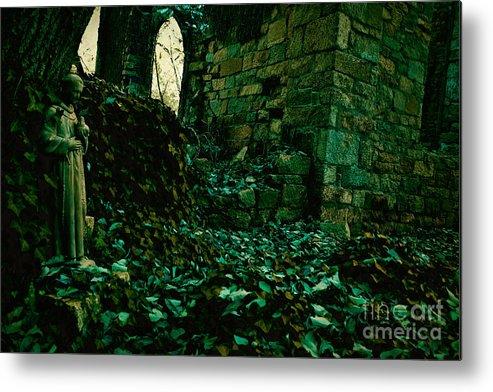 Ruins Metal Print featuring the photograph Saint Johns Chapel Seven by Susan Isakson