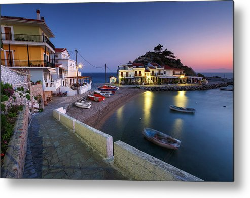 Europe Metal Print featuring the photograph samos 'VI by Milan Gonda