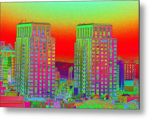 San Diego Metal Print featuring the photograph San Diego Scenic by Richard Henne