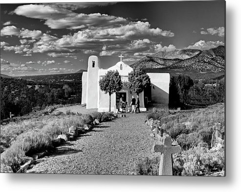 San Metal Print featuring the photograph San Francisco De Assisi, Golden, New Mexico, March 11, 2017 by Mark Goebel