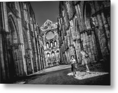 Abbey Metal Print featuring the photograph San Galgano - Tuscany by Luca Lorenzelli