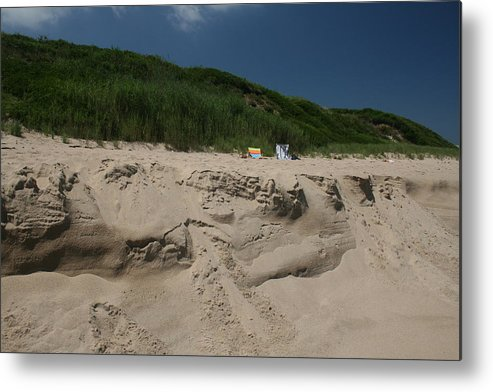 Beach Metal Print featuring the photograph Sand Dunes II by Jeff Porter
