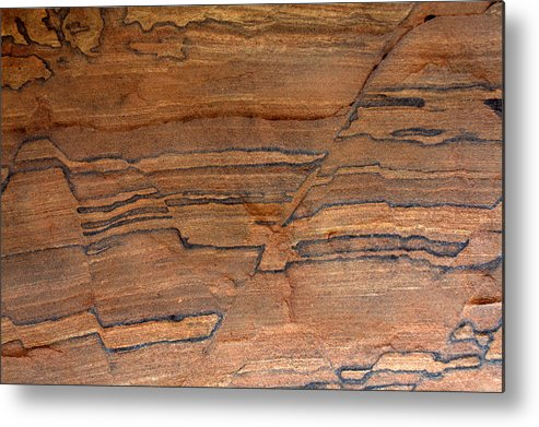 Sandstone Metal Print featuring the photograph Sandstone Art I by Farol Tomson