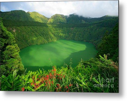 Azores Metal Print featuring the photograph Santiago Lake by Gaspar Avila