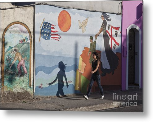 Europa Metal Print featuring the photograph Sardinia Wall Painting by Juergen Held