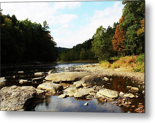 River Metal Print featuring the photograph Scenic River by Darlene Bell