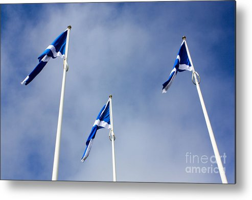 Scotland Metal Print featuring the photograph Scotland by Smart Aviation
