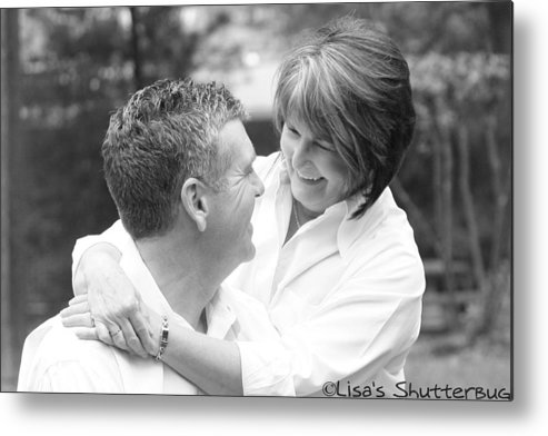 Metal Print featuring the photograph Scott And Sandi 2 by Lisa Johnston