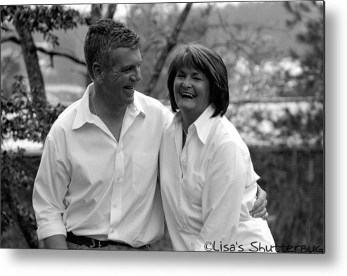Metal Print featuring the photograph Scott And Sandi 3 by Lisa Johnston