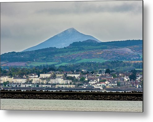 Sea Point Metal Print featuring the photograph Sea Point And Sugar Loaf Mountain by Philip Mulhall