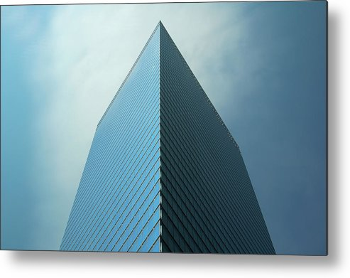 Seven World Trade Metal Print featuring the photograph Seven World Trade by Mandy Wiltse