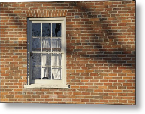 Window Metal Print featuring the photograph Shadow by David Arment
