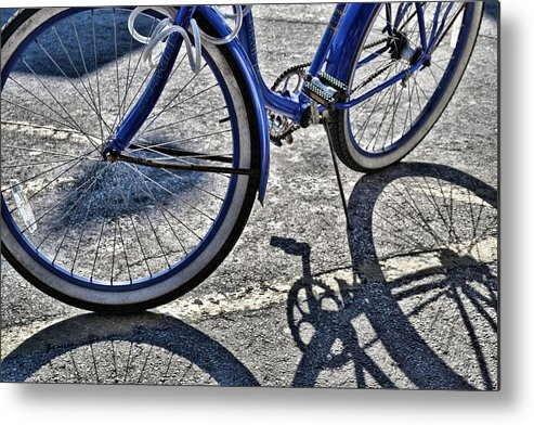 Key Metal Print featuring the photograph Shadow Quadracycle by JAMART Photography