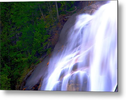 Waterfall Metal Print featuring the photograph Shannon Falls by Paul Kloschinsky