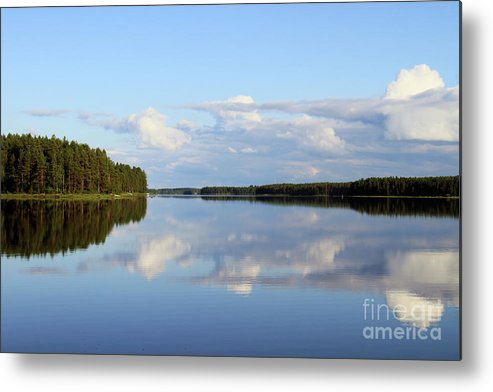 Lake Metal Print featuring the photograph Silent Lake by Fady Dow