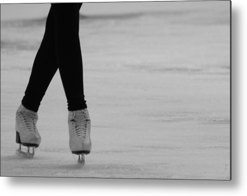Ice Skate Metal Print featuring the photograph Skating by Lauri Novak