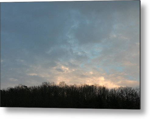 Nightfall Metal Print featuring the photograph Sky At Dusk by George Ferrell