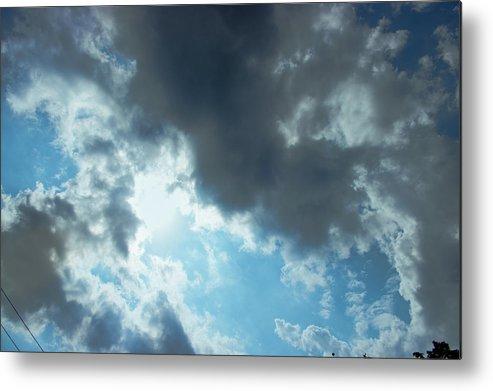 Sky Metal Print featuring the photograph Sky Of Hope by John Abdelmalak