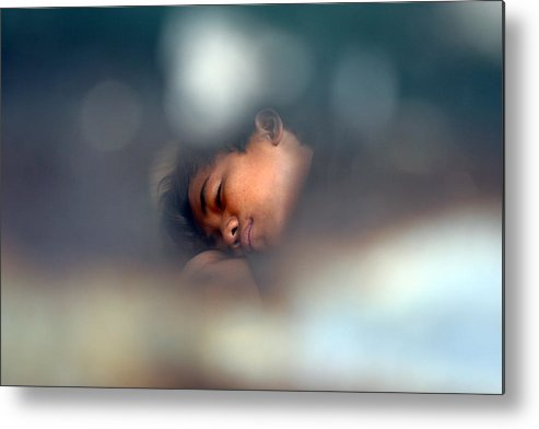 Jez C Self Metal Print featuring the photograph Sleep My Sleep by Jez C Self