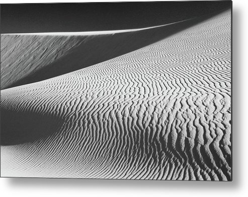Sand Dunes Metal Print featuring the photograph Slipping Through My Fingers by Laurie Search