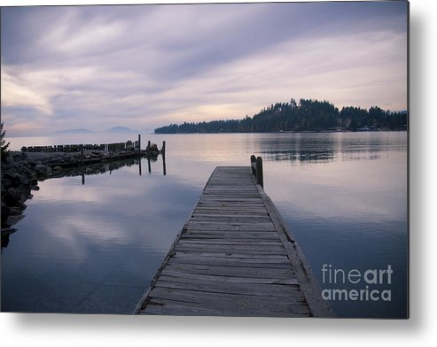 Montana Metal Print featuring the photograph Smoky Blues by Idaho Scenic Images Linda Lantzy
