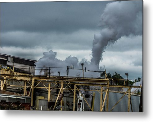 Longview Metal Print featuring the photograph Smoky by Darrell Clakley