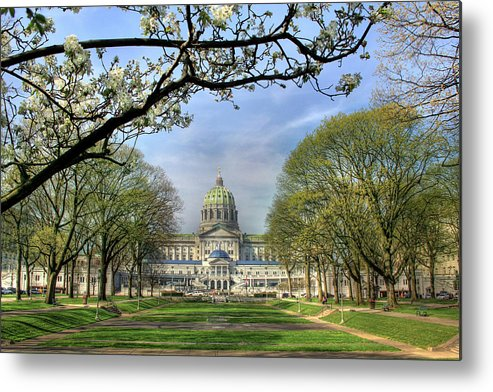 Harrisburg Metal Print featuring the photograph Soldiers Grove by Lori Deiter
