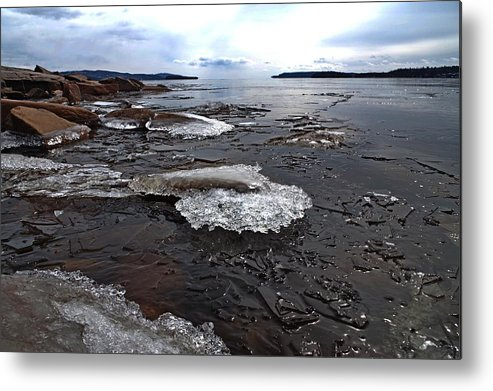Ice Metal Print featuring the photograph Spring Is Coming by Tim Beebe