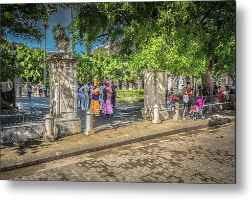 Havana Metal Print featuring the photograph Square by Bill Howard