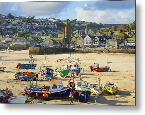 St Ives Metal Print featuring the photograph St Ives by Elisa Locci