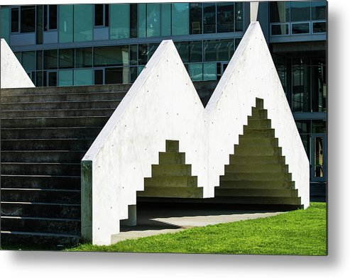 Metal Print featuring the photograph Stairway To Higher Learning by Tom Cochran