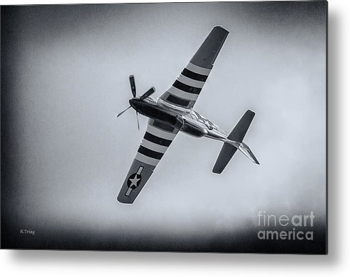 Stallion 51 Metal Print featuring the photograph Stallion 51 - P-51d Mustang - Crazy Horse 2 by Rene Triay Photography