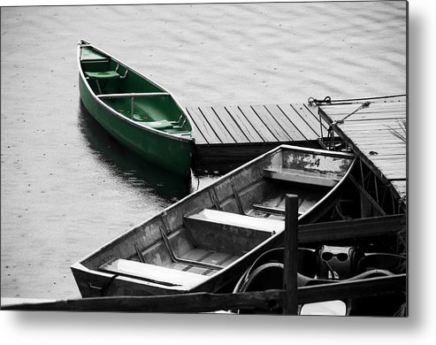 Boat Metal Print featuring the photograph Standout by Betty LaRue