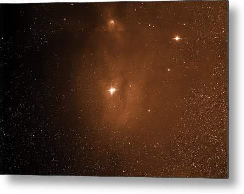 Space Metal Print featuring the photograph Starfield Ic4604 by Jim DeLillo