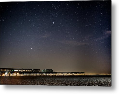 Astro Photogrpahy Metal Print featuring the photograph Stars Over The Fy8 by Philip Salisbury