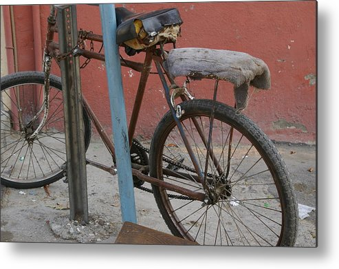 Bike Metal Print featuring the photograph Still Rolling by Don Prioleau