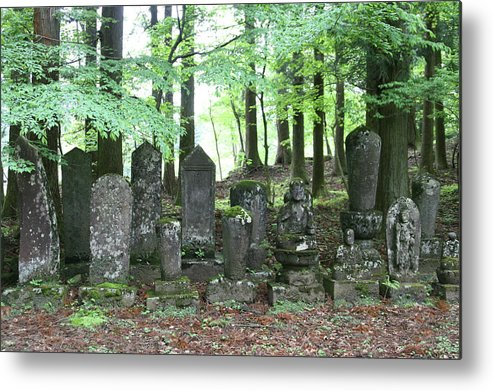 Japan Metal Print featuring the photograph Stone Statue by Masami Iida