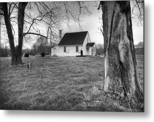 Stonewall Jackson Metal Print featuring the photograph Stonewall Jackson House by Harry H Hicklin