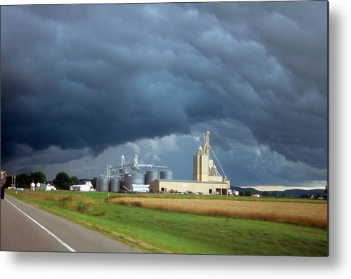 Strom Clouds Metal Print featuring the photograph Storm Clouds by David Campione