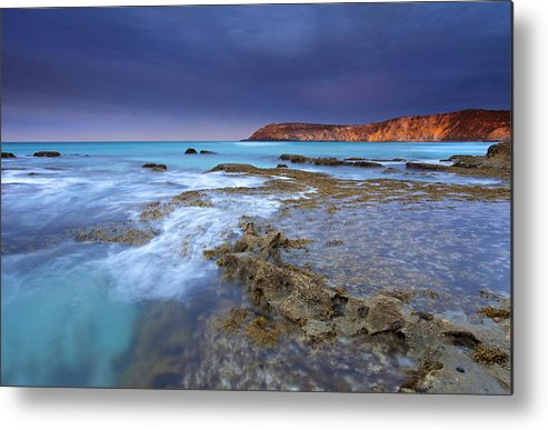 Dawn Metal Print featuring the photograph Storm Light by Mike Dawson