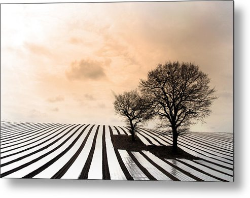 Photographer Metal Print featuring the photograph Stretching Off by Jez C Self